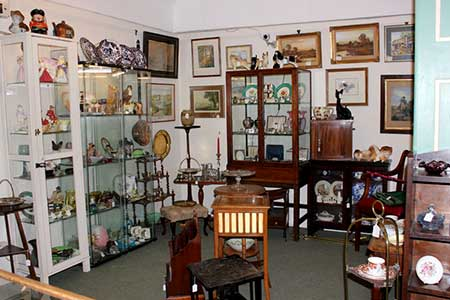 Quality silver items, porcelain, ceramics, and small Victorian and Edwardian furniture